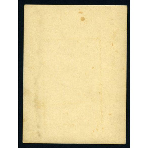 Vadász puskával, elegáns férfi, vadászat, erdő, természet, 1910-es évek, Eredeti fotó, papírkép.