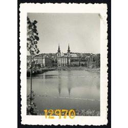 Feneketlen-tó, Budapest, Kelenföld, XI. kerület, város, 1930-as évek, Eredeti fotó, papírkép.