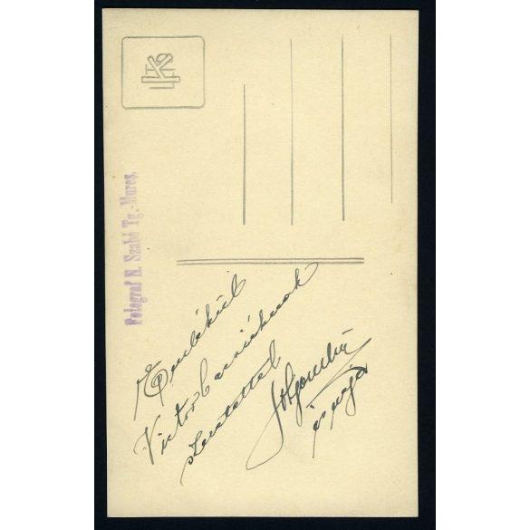 Szabó műterem, esküvő, menyasszony, Marosvásárhely, Erdély (Tg. Mures), 1930-as évek, Eredeti fotó, papírkép.