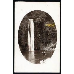 Rév, Erdély, fürdőhely vízeséssel, lányok fürdőruhában, 1927, 1920-as évek, Eredeti fotó, papírkép.