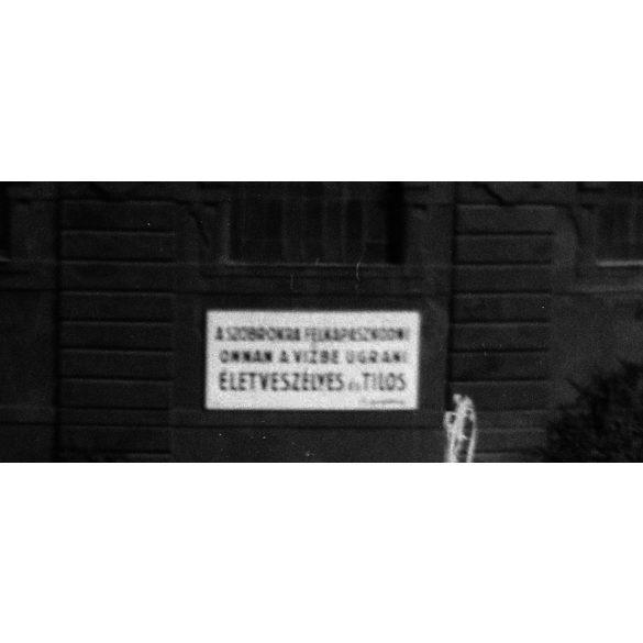 Széchenyi fürdő, fürdőruha, Budapest, Városliget, 1930-as évek, Eredeti fotó negatív!
