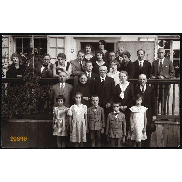 Gyémántlakodalom. Székelyudvarhely, Erdély, Kovács István fényképész készítette, ünnep, 1932, 1930-as évek, Eredeti fotó, papírkép.
