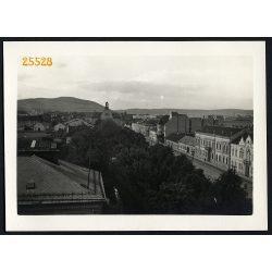 Kassa, Felvidék, utcakép, város, 1940-es évek, Eredeti fotó, papírkép.