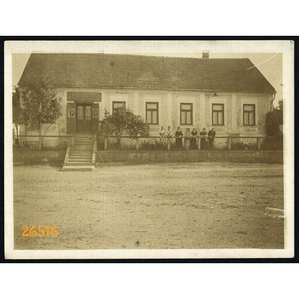 Nagykanizsa,  Gyógyszertár, épület, városkép, 1910-es évek, Eredeti fotó, papírkép.