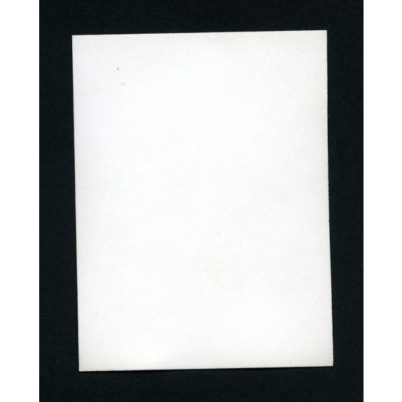 Művészi akt, erotikus felvétel, hölgy műteremben, 1970-es évek, Eredeti fotó, papírkép.